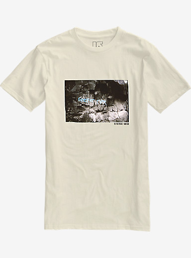 Burton Reefer Ridge Slim Fit Short Sleeve T Shirt shown in Vanilla