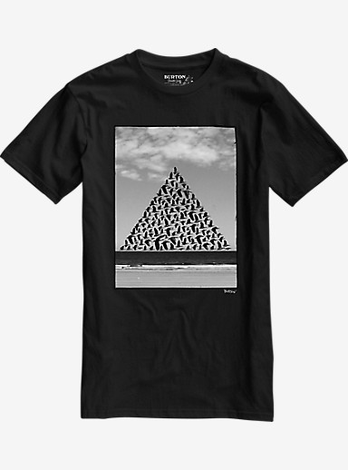 Burton Smith Slim Fit Short Sleeve T Shirt shown in True Black