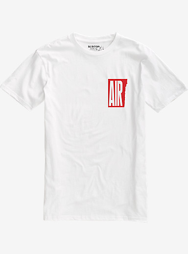 Burton Retro Air Short Sleeve T Shirt shown in Stout White