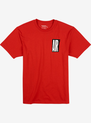 Burton Retro Air Short Sleeve T Shirt shown in Fiery Red