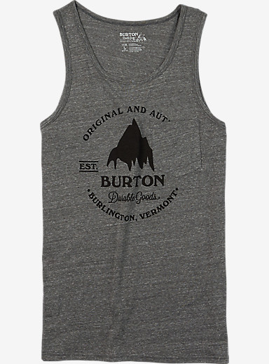 Burton Gristmill Tank shown in Gray Heather
