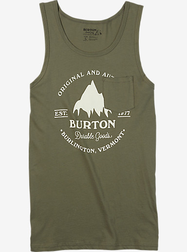 Burton Gristmill Tank shown in Light Olive