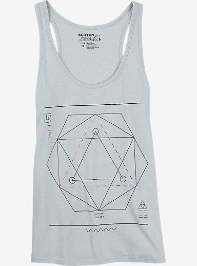 Burton Vertigo Tank shown in Silver Heather