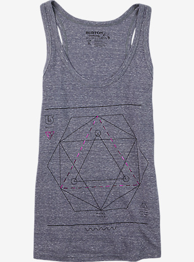 Burton Vertigo Tank shown in Graystone Heather