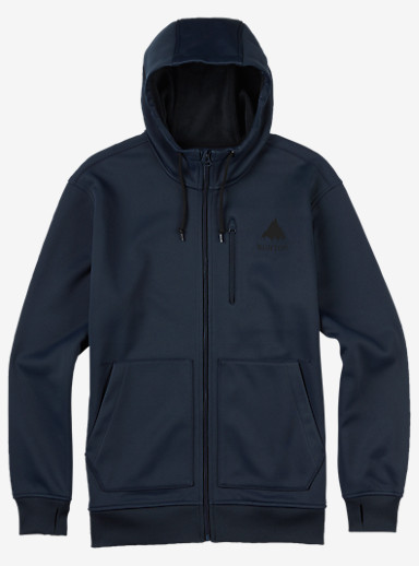 Burton Classic Bonded Hoodie shown in Eclipse
