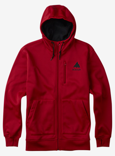 Burton Classic Bonded Hoodie shown in Process Red
