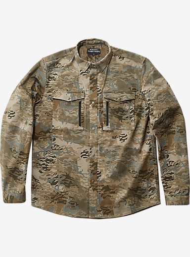 BURTON THIRTEEN Bishop shown in Mix Camo
