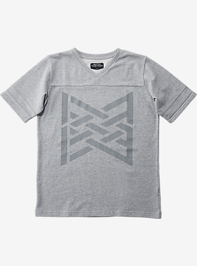 BURTON THIRTEEN Warpath T Shirt shown in Top Gray