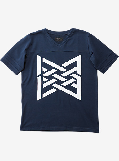 BURTON THIRTEEN Warpath T Shirt shown in Navy