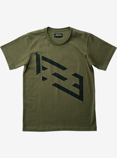 BURTON THIRTEEN Pixie T Shirt shown in Olive