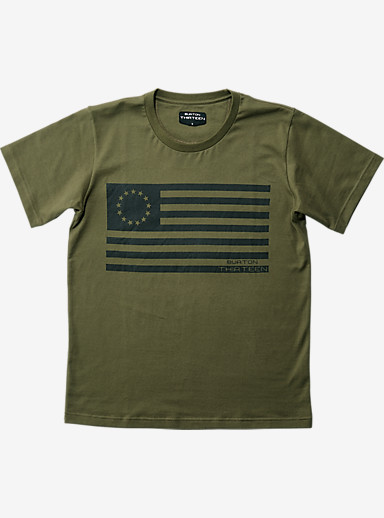 BURTON THIRTEEN Karma T Shirt shown in Olive
