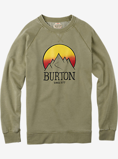 Burton Vista Crew shown in Light Olive