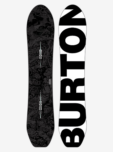 Burton CK Nug Snowboard shown in 154