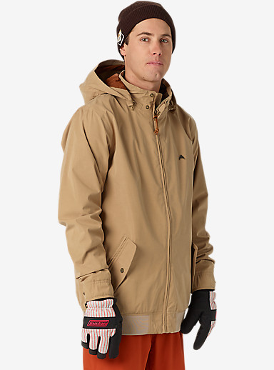 Burton Barracuda Jacket shown in Kelp