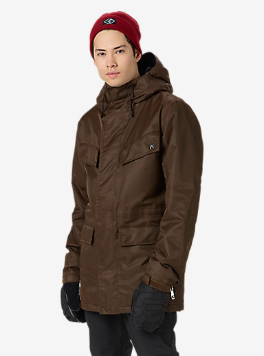 Analog Merchant Jacket shown in Bark