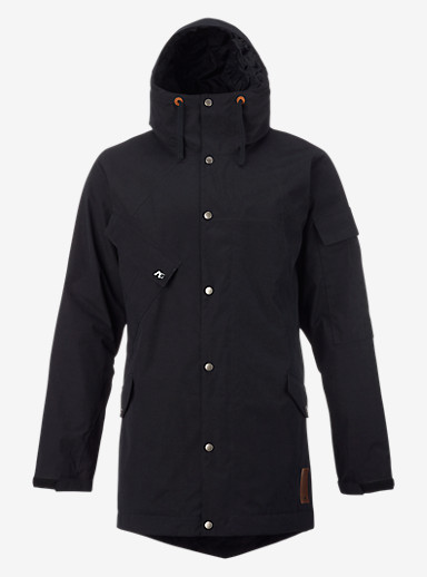 Analog Solitary Jacket shown in True Black