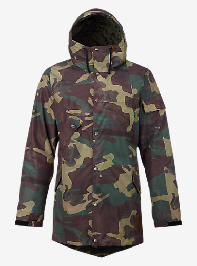 Analog Solitary Jacket shown in Surplus Camo