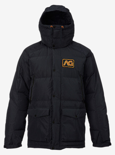 Analog Innsbruck Down Jacket shown in True Black