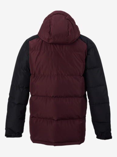 Analog Innsbruck Down Jacket shown in Deep Purple / Black