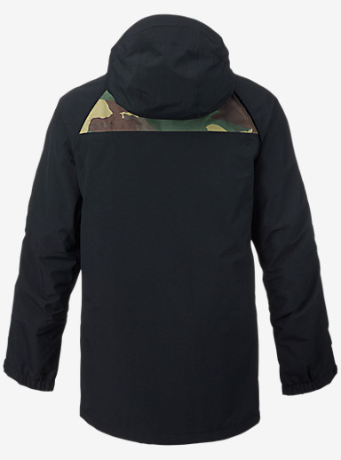 Analog Zenith GORE-TEX® Snowboard Jacket shown in True Black / Surplus Camo