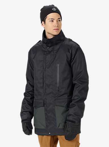 Analog Rover Jacket shown in True Black / Dark Charcoal