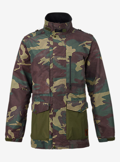 Analog Rover Jacket shown in Surplus Camo / Dark Khaki