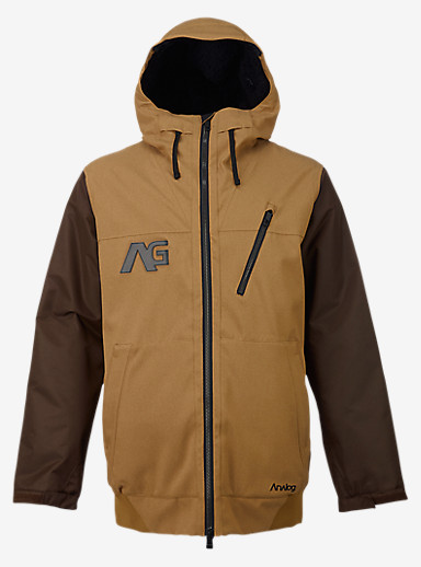 Analog Greed Jacket shown in Masonite