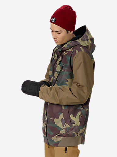 Analog Greed Jacket shown in Surplus Camo