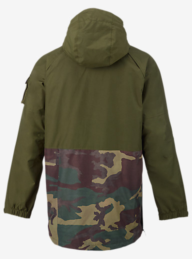 Analog Highmark Anorak Jacket shown in Keef / Surplus Camo