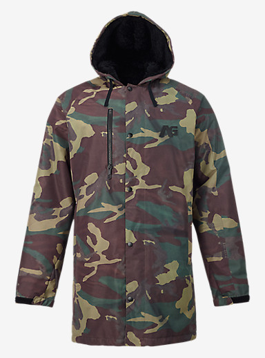 Analog Stadium Parka shown in Surplus Camo