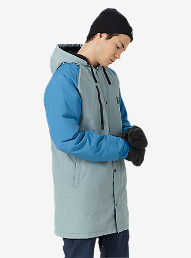 Analog Stadium Parka shown in Led / Sky Blue