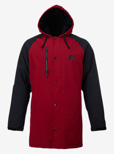 Analog Stadium Parka shown in Blood / Black