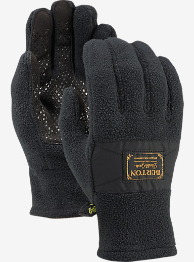 Burton Ember Fleece Glove shown in True Black