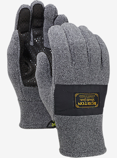 Burton Ember Fleece Glove shown in Faded Heather