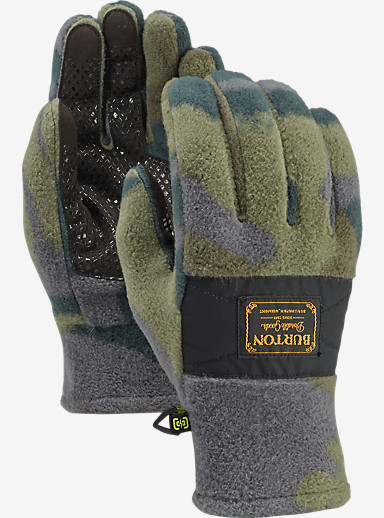 Burton Ember Fleece Glove shown in Beetle Derby Camo
