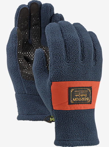Burton Ember Fleece Glove shown in Eclipse / Picante
