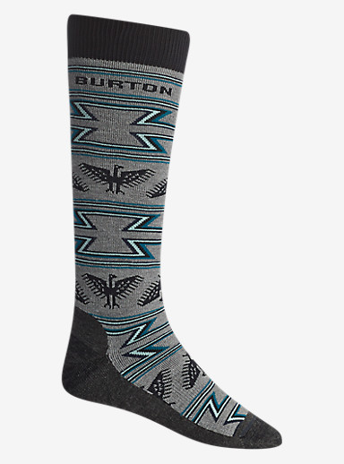 Burton Ranger Sock shown in Heather Iron Gray