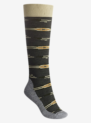 Burton Shadow Sock shown in Faded Heather