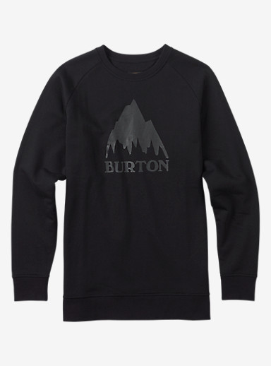 Burton Classic Mountain Crew shown in True Black