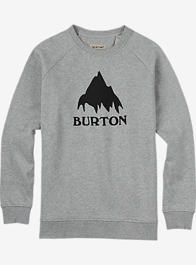 Burton Classic Mountain Crew shown in Gray Heather
