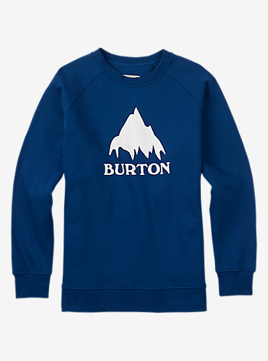 Burton Classic Mountain Crew shown in True Blue
