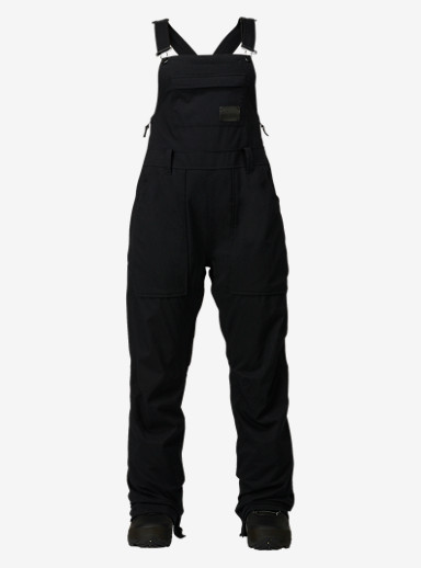 Burton Avalon Bib Pant shown in True Black