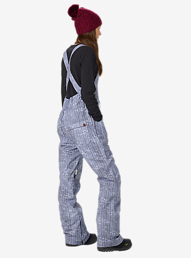Burton Avalon Bib Pant shown in Shaman Shibori