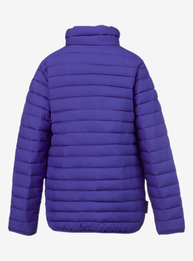 Burton Kids' Reversible Flex Puffy Jacket shown in Sorcerer / Figaro Stripe