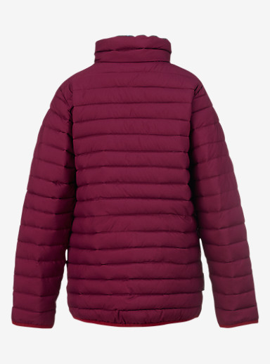 Burton Kids' Flex Puffy Jacket shown in Sangria / Highland Floral