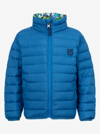 Burton Minishred Reversible Flex Puffy Jacket shown in Glacier / Sasquatch