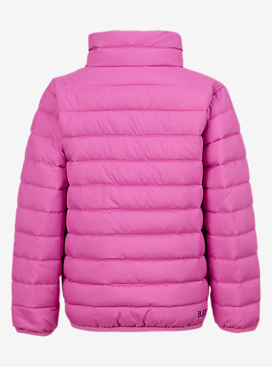 Burton Minishred Flex Puffy Jacket shown in Sp Pink / Ikat Dot