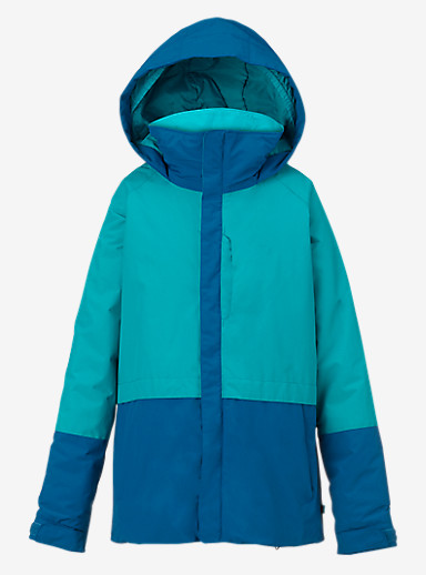 Burton Girls' Gemini System Jacket shown in Everglade / Athens