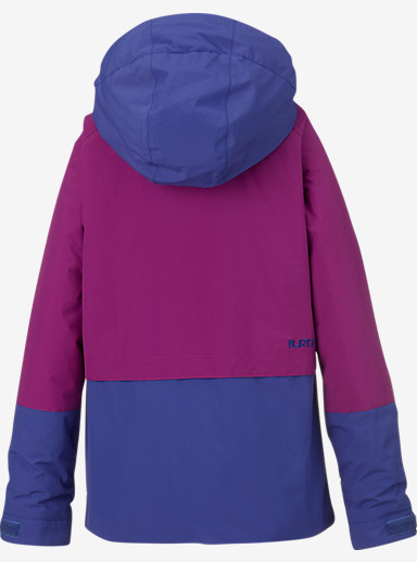 Burton Girls' Gemini System Jacket shown in Grapeseed / Sorcerer