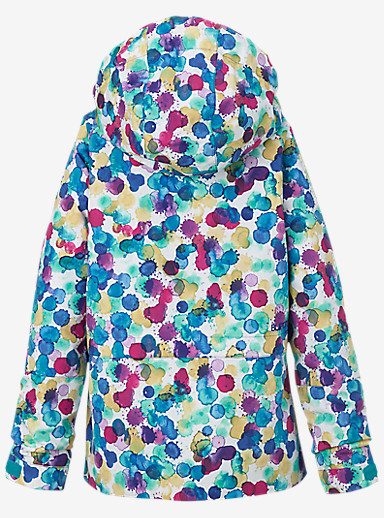 Burton Girls' Gemini System Jacket shown in Rainbow Drops